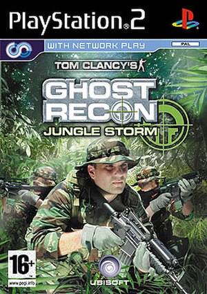 Tom Clancy's Ghost Recon: Jungle Storm - Image: Tom Clancy's Ghost Recon Jungle Storm