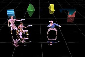 Time Traveler (video game) - Game screenshot.