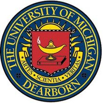University of Michigan–Dearborn - Image: University of Michigan Dearborn seal