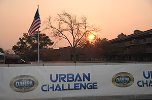 CajunBot - DARPA Urban Challenge 2007 opening ceremony