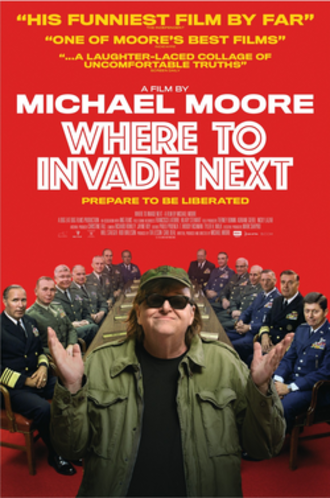 Where to Invade Next - Theatrical release poster