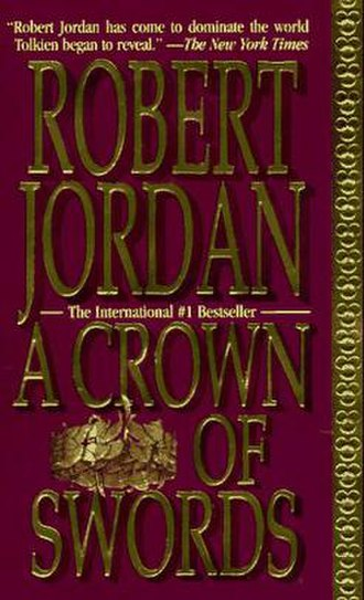 A Crown of Swords - A Crown of Swords was the first Wheel of Time book for which the cover of the first paperback edition, shown here, did not use the same art as the hardcover edition.