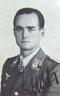 Wolfgang Späte German World War II fighter pilot