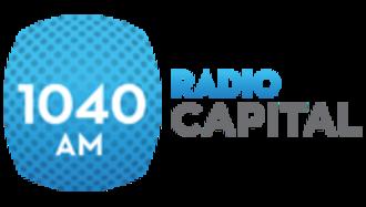 """XHCH-FM - Final """"Radio Capital"""" logo before AM-FM migration"""