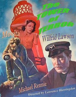 <i>Tower of Terror</i> (1941 film) 1941 film by Lawrence Huntington