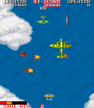 1943: The Battle of Midway - Gameplay screenshot of 1943
