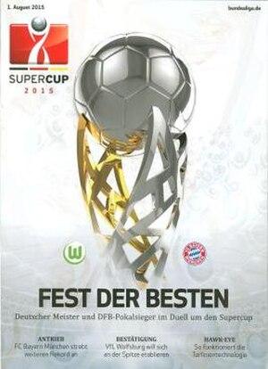 2015 DFL-Supercup - Image: 2015 DFL Supercup programme