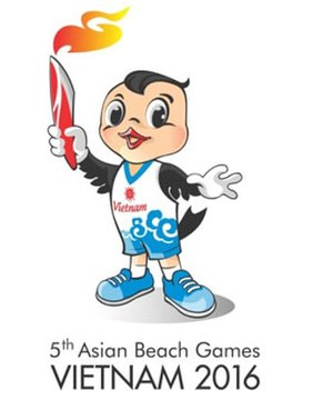 2016 Asian Beach Games - Chim Yen, the official mascot.
