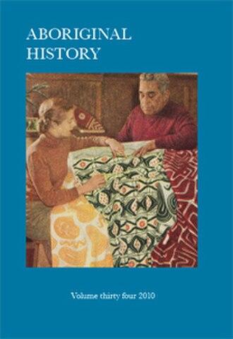 Aboriginal History - Image: AH journal cover