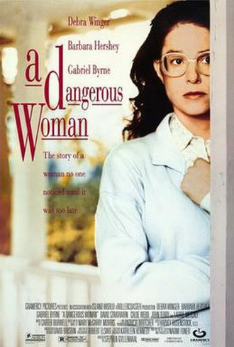 A Dangerous Woman (1993 film) - Theatrical release poster