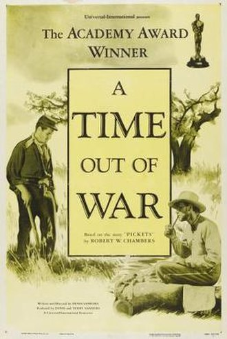 A Time Out of War - Image: A Time Out of War Film Poster