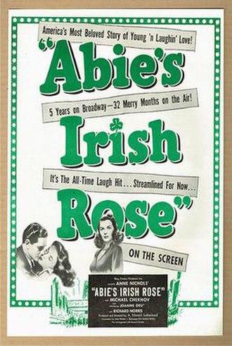 Abie's Irish Rose (1946 film) - Theatrical poster