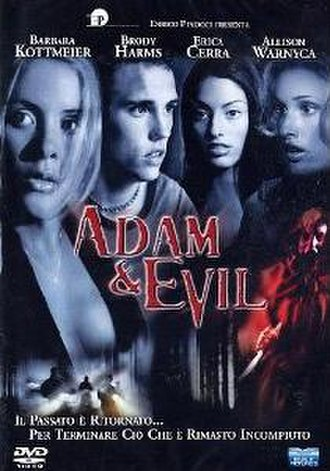 Adam and Evil (2004 film) - Adam and Evil DVD Cover (Italian version)
