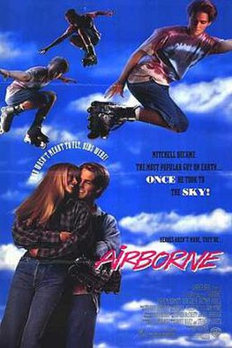 Airborne (1993 film) - Theatrical release poster