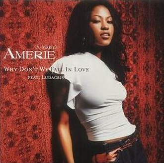 Why Don't We Fall in Love - Image: Amerie Why Don't We Fall In Love UK CD single