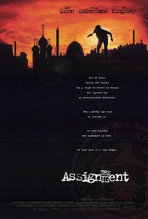 The Assignment (1997 film) - Theatrical release poster