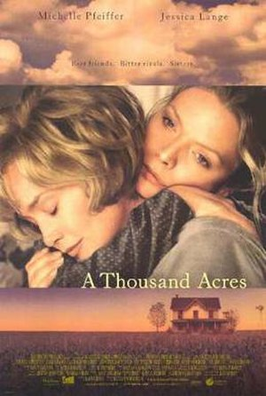 A Thousand Acres (film) - Theatrical release poster