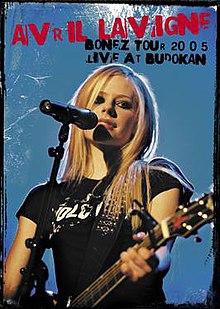 Avril Lavigne Bonez Tour  Live At Budokan Dvd