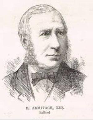 Benjamin Armitage - Armitage in 1880