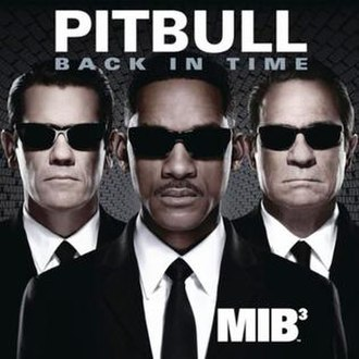 Back in Time (Pitbull song) - Image: Back in Time single