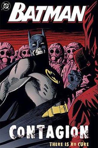 Batman: Contagion - Image: Batman Contagion TPB cover