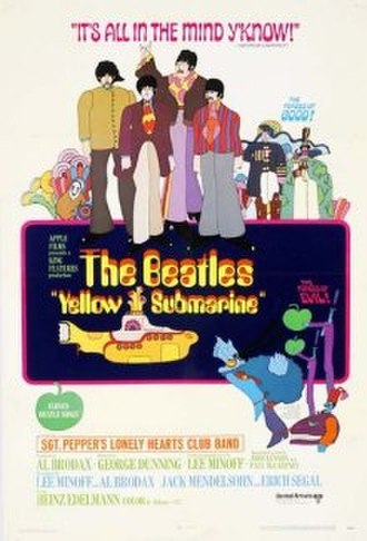 Yellow Submarine (film) - Original theatrical release poster