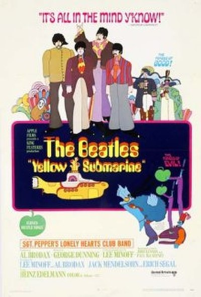 Picture of a movie: Yellow Submarine
