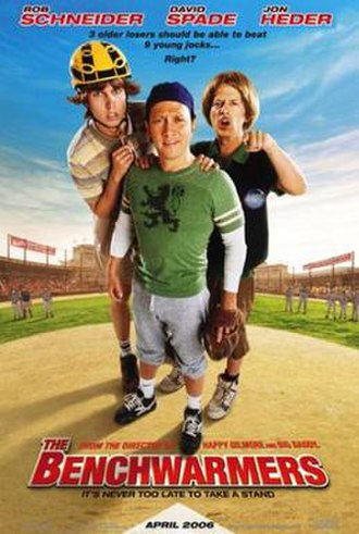 The Benchwarmers - Theatrical release poster