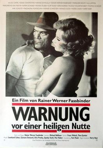 Beware of a Holy Whore - Theatrical release poster