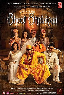 <i>Bhool Bhulaiyaa</i> 2007 Indian comedy horror film