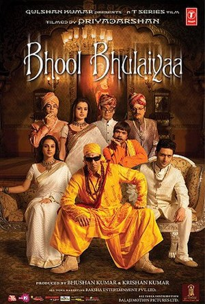 Bhool Bhulaiyaa - Theatrical release poster