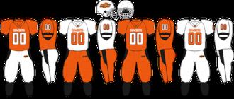 2008 Oklahoma State Cowboys football team - Image: Big 12 Uniform OSU 2007 2008