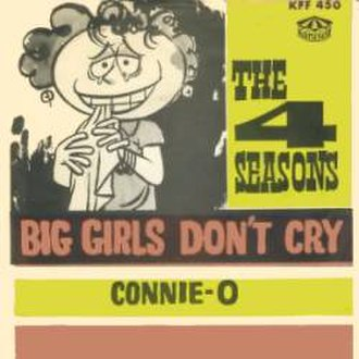 Big Girls Don't Cry (The Four Seasons song) - Image: Big Girls Don't Cry