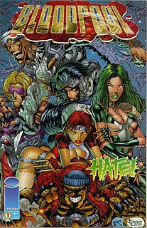 Bloodpool (comics) Fictional group of superheroes and a comic book series created by Rob Liefeld