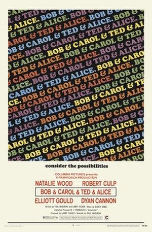 Bob & Carol & Ted & Alice - Theatrical release poster