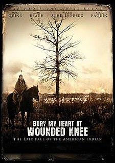 <i>Bury My Heart at Wounded Knee</i> (film) 2007 US TV film directed by Yves Simoneau