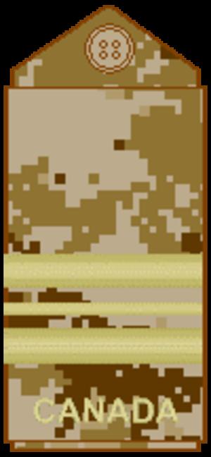 Major (Canada) - Image: CADPAT arid Maj