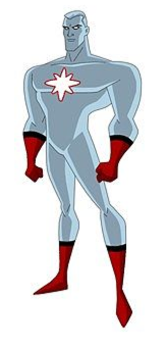 Captain Atom - Captain Atom as depicted in Justice League Unlimited.