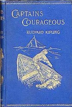 Captains Courageous - First edition cover