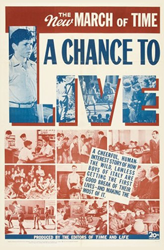 A Chance to Live - Theatrical release poster
