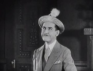 Crazy like a Fox (1926 film) - Charley Chase as Wilson, the groom.