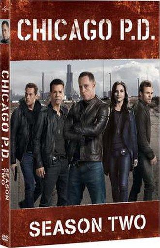Chicago P.D. (season 2) - Chicago P.D. Season 2 DVD cover