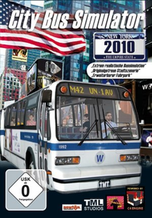 City Bus Simulator - Image: City Bus Simulator Cover