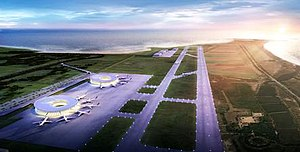 Kalma Airport - Initial design plan, released in 2013