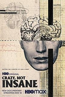 <i>Crazy, Not Insane</i> 2020 American documentary film