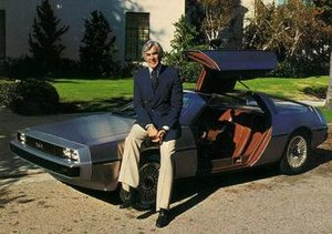 John DeLorean - Image: DMC publicity photo