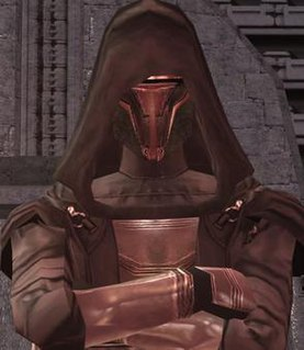 Revan Character from Star Wars