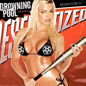 Jesse Jane - Jesse Jane on the cover of an album by Drowning Pool
