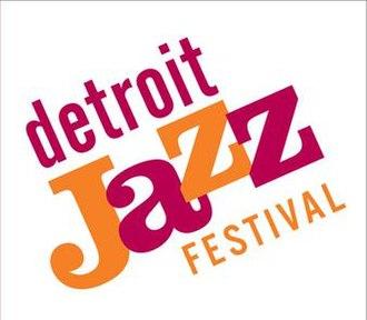 Detroit International Jazz Festival - Image: Detroit Jazz Festival Logo