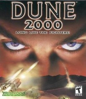 <i>Dune 2000</i> real-time strategy game